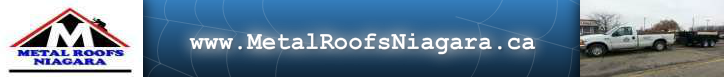 Metal Roofs Niagara Logo